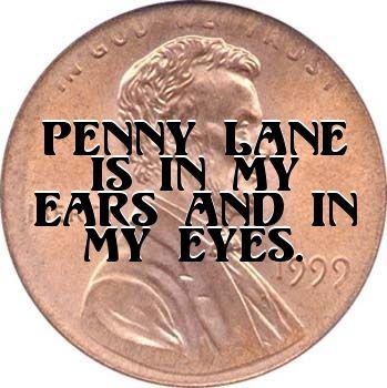 The Beatles.. Penny Lane