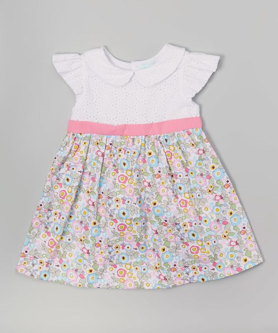 Eyelet dress Infant toddler and Infants on Pinterest