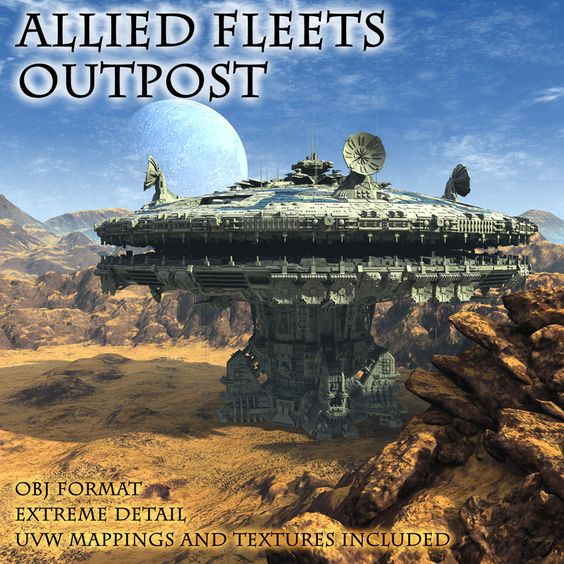 Allied Fleets Outpost - $20
