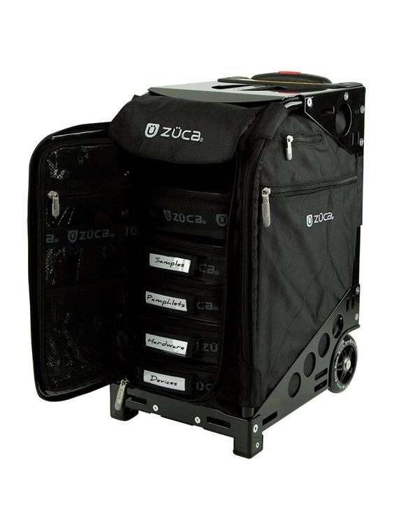Pro Business Black/Black:travel luggage, rolling bag