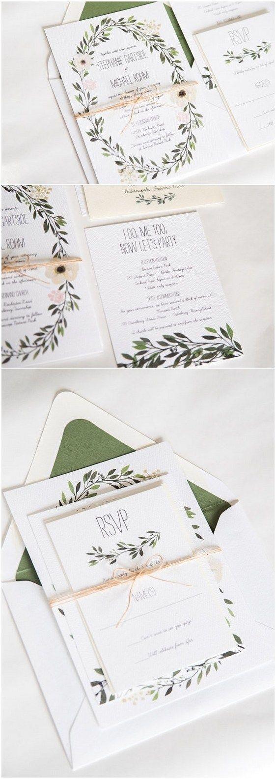 Rustic Wedding Invitation (1)   Weddings, Wedding graphics and ...