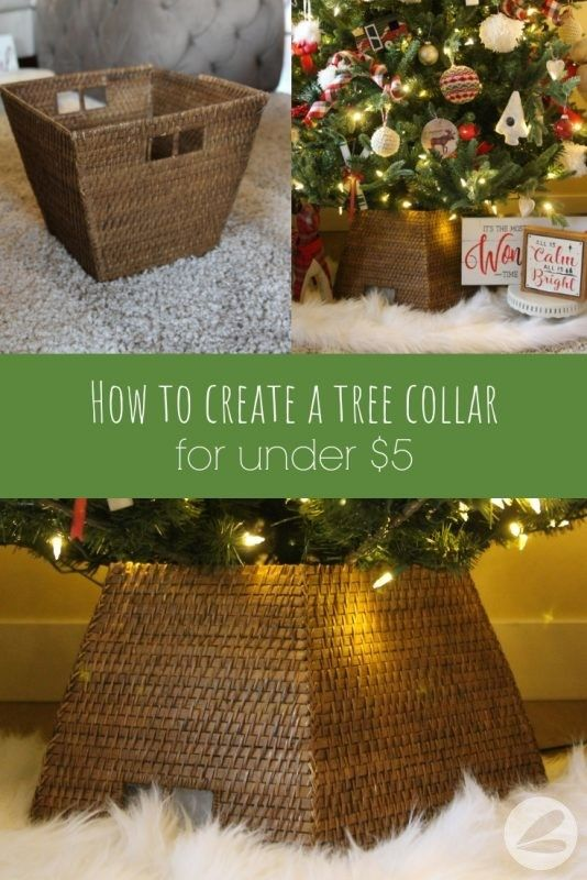 How To Create A Tree Collar For Under 5 Homemade Heather In