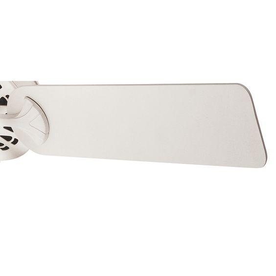 #Hunter #52 #Inch French Vanilla Finish #Ceiling #Fan With White Linen Glass Light Kit. #Hunter #21435