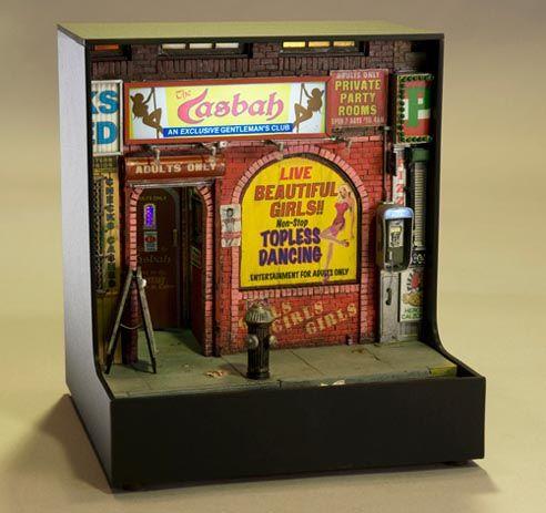 "Alan Wolfson makes ""Miniature Urban Sculptures."""