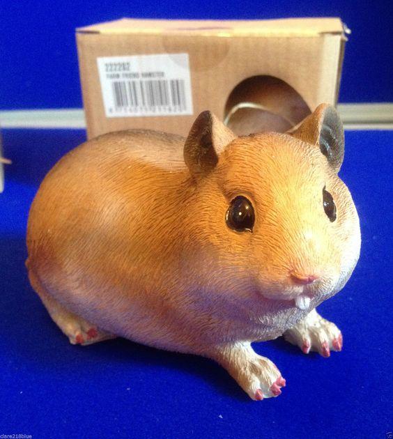 Details about NEW Hamster Ornament Garden Indoor Farm Friend Pet