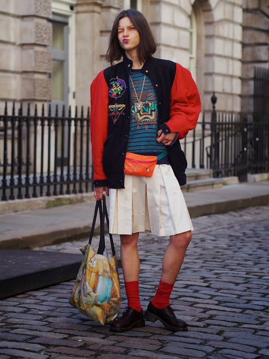 Street Muses...LFW...@Christina & Gutterman House, London - London Fashion by Paul #tati cotliar