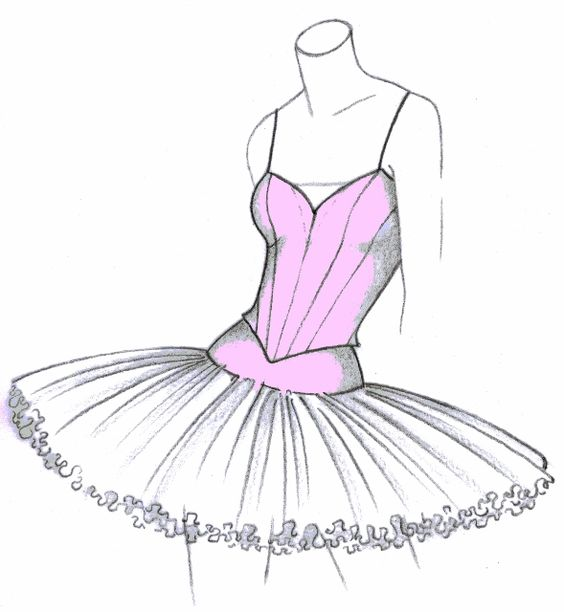 Tutus textiles and tutu pattern on pinterest for Pin the tutu on the ballerina template