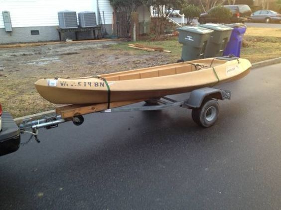 Selling my 14' Ocean Kayak Ambush. This thing is super stable and holds a ton of gear, weight capacity is 800lbs and can run up to a 5hp outboard. Cruises pretty fast with a trolling motor and has a...