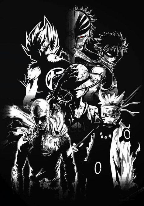 Naruto Saitama Luffy Natsu Goku Et Kurosaki Naruto Shippuden One Punch Man One Piece Fairy Tail Dragon Ball Et Gambar Anime Ilustrasi Ilustrasi Ikon Naruto and natsu wallpaper hd