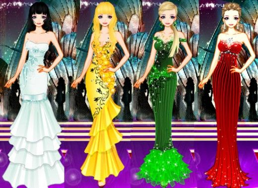 play online dress up games with latest dress collection: