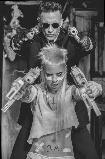 Die Antwoord, I am strangely obsessed with these two!