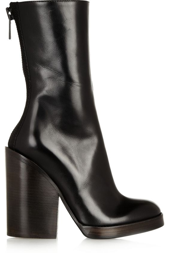 Haider Ackermann | Leather boots | NET-A-PORTER.COM