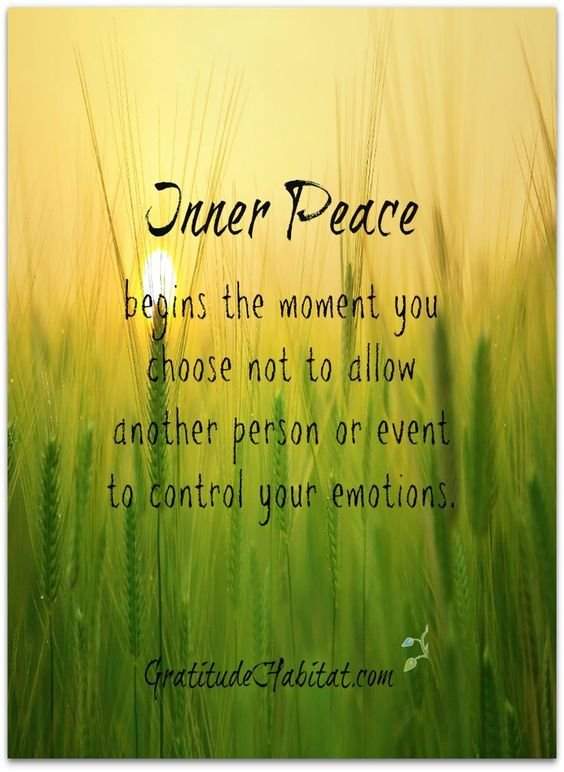 inner peace quotes - Google Search