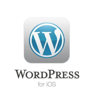 I didn't know there was an ipad app for Wordpress!