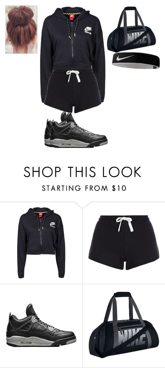 """""""Untitled #268"""" by nerdgirl14-boss on Polyvore featuring NIKE and New Look"""