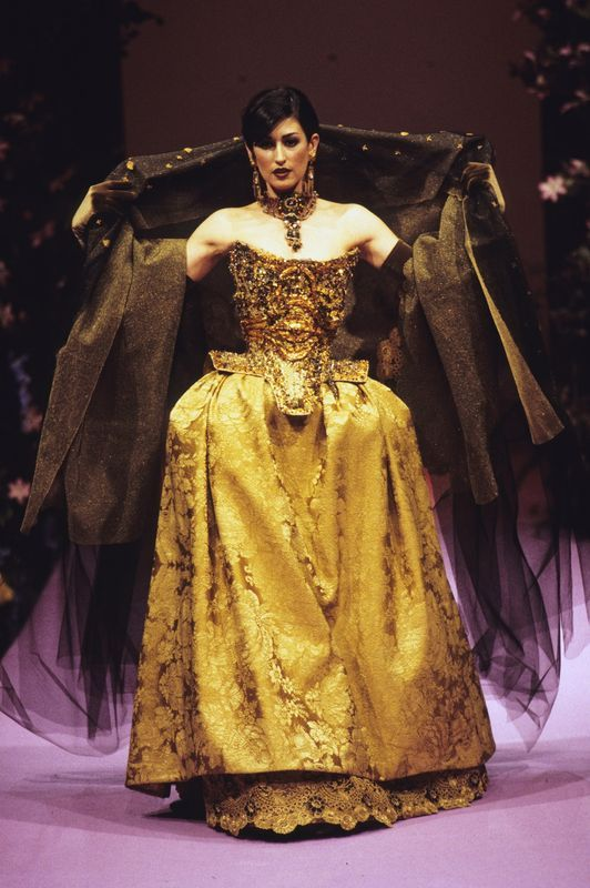 Christian Lacroix haute couture f/w 1995