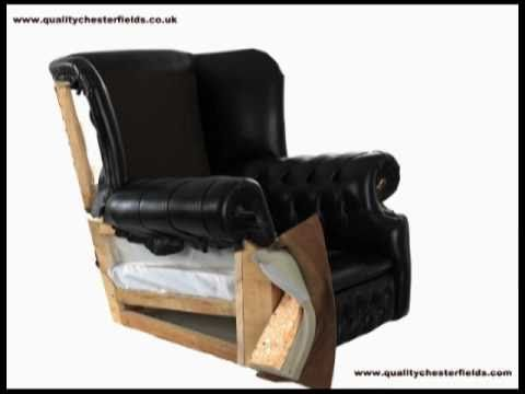 Leather chair, time lapse...very cool.