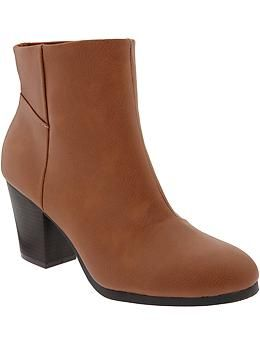 Womens Ankle Boots. On Sale Old Navy $26   I like pretty clothes