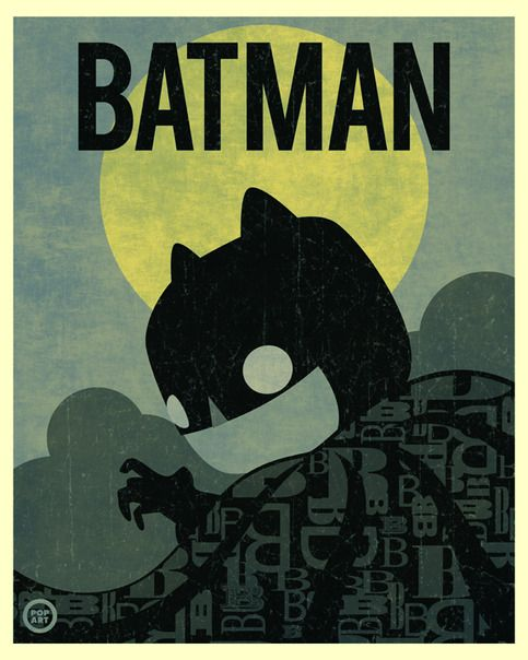 Batman Pop! Limited Edition Print  from POP ART