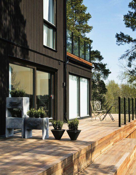Maison en bois moderne et design Maison Pinterest Déco et Design - Exemple De Facade De Maison