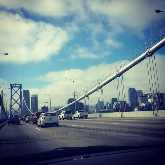 On the Bay Bridge, San Francisco