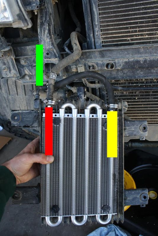 How to Bypass a Frontier or Xterra Radiator Transmission ...