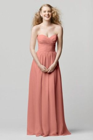 WTOO Bridesmaid Dresses - Style 601 [601] - $212.00 : Wedding Dresses, Bridesmaid Dresses, Prom Dresses and Bridal Dresses - Your Best Brida...