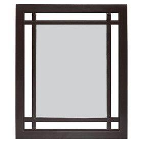 Neal Wall Mirror - Dark Espresso : Target Mobile