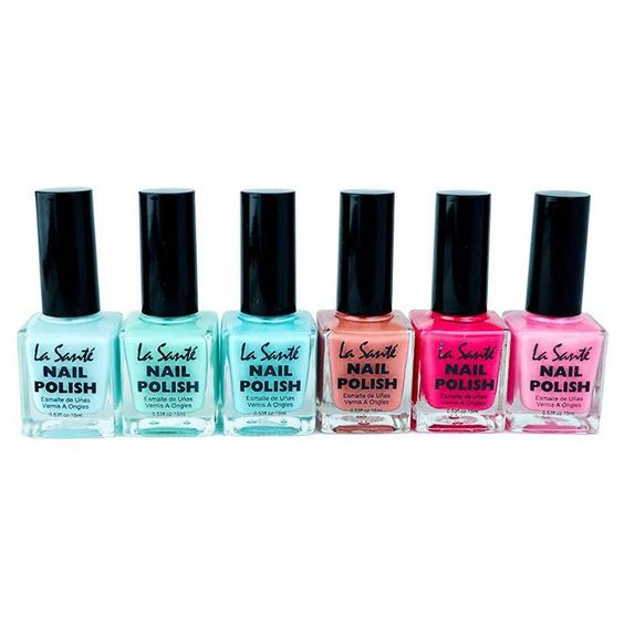 6-Pack: La Sante Nail Polish Sets - $8.99. https://www.bellechic.com/deals/59f3a14be64b/6-pack-la-sante-nail-polish-sets