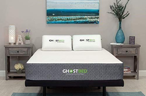 The Ghostbed Mattress Queen 11 Inch Cooling Gel Memory Foam