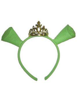 Shrek Fiona Tiara and EarsCostume Accessories - Escapade Fancy Dress and Costumes