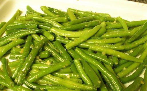 Fagiolini all'aglio