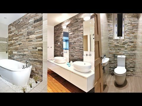 50 Best Stone Wall Decorating Ideas 2021 Modern Bathroom Design Modern Bathroom Modern Bathroom Design Bathroom Design