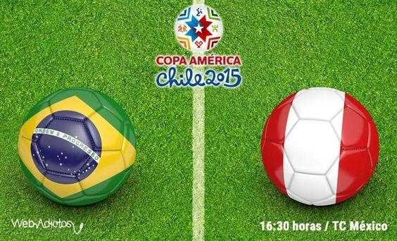 Brasil vs Perú en la Copa América 2015 ¡En vivo! - http://webadictos.com/2015/06/14/brasil-vs-peru-copa-america-2015/?utm_source=PN&utm_medium=Pinterest&utm_campaign=PN%2Bposts