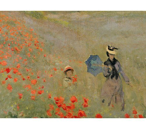 East Urban Home Wild Poppies Near Argenteuil 1873 By Claude Monet Framed Art Print Claude Monet Art Claude Monet Paintings Artist Monet