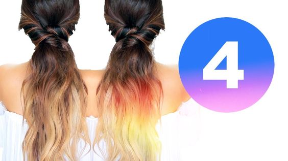 ★ 4 LAZY FALL HAIRSTYLES ★ EASY Girls HAIRSTYLES for Medium Long Hair