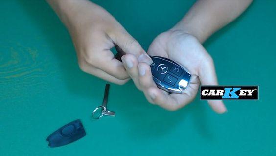 hướng dẫn thay pin chìa khóa xe hơi
