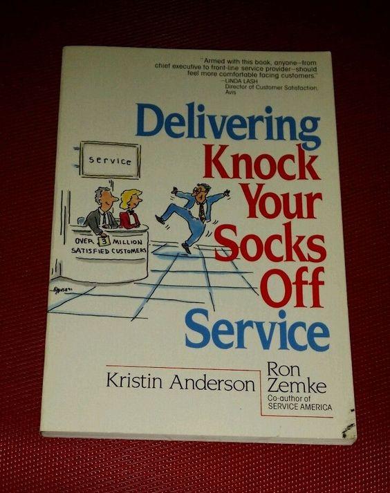 Ron Zemke DELIVERING KNOCK YOUR SOCKS OFF SERVICE Customer Service pb ANDERSON