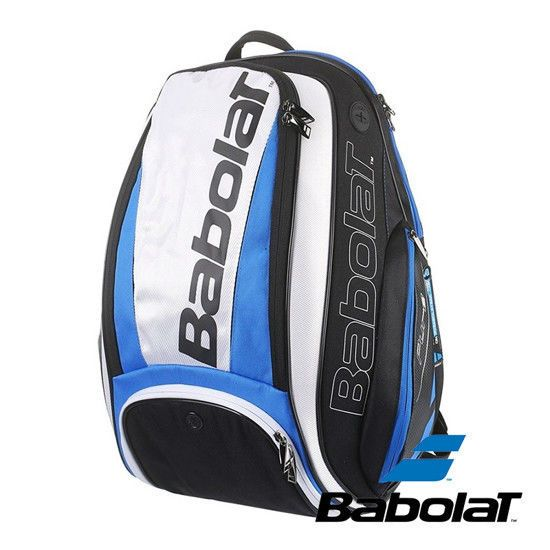 Babolat Pure Aero Tennis Backpack Bag White Blue Racket Racquet Nwt 753047 346 Babolat Tennis Backpack Backpack Bags Backpacks