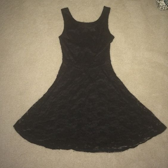 Black Lace Dress From Wet Seal Small Tear Barely Noticeable