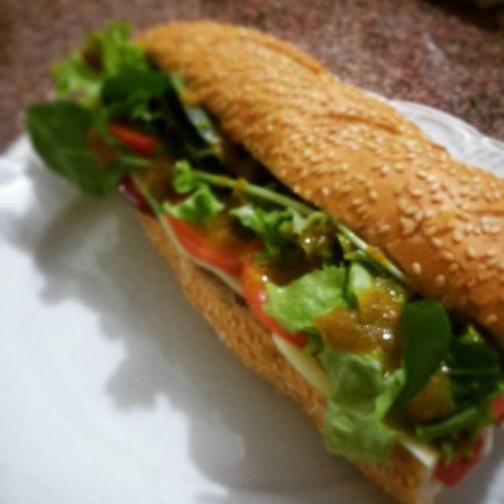 Já posso trabalhar no Subway!  #sandwich #subway #instafood #vaigordinho