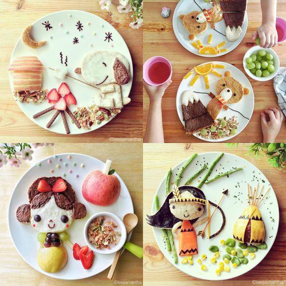 Lee Samantha: comida que cuenta historias | milowcostblog♥