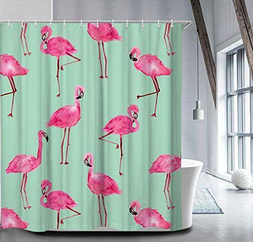 Pin By Christine Castelino On My Bathroom Flamingo Shower