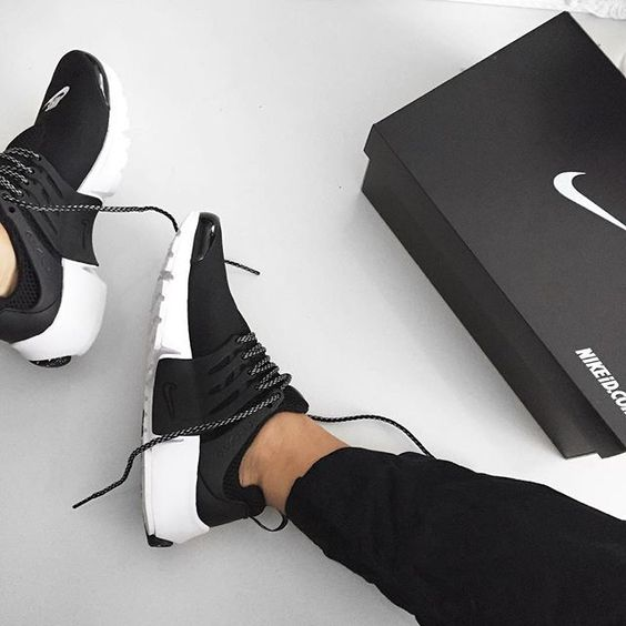 sneakers femme nike air presto by lmlaxo street fashion casual style latest fashion. Black Bedroom Furniture Sets. Home Design Ideas