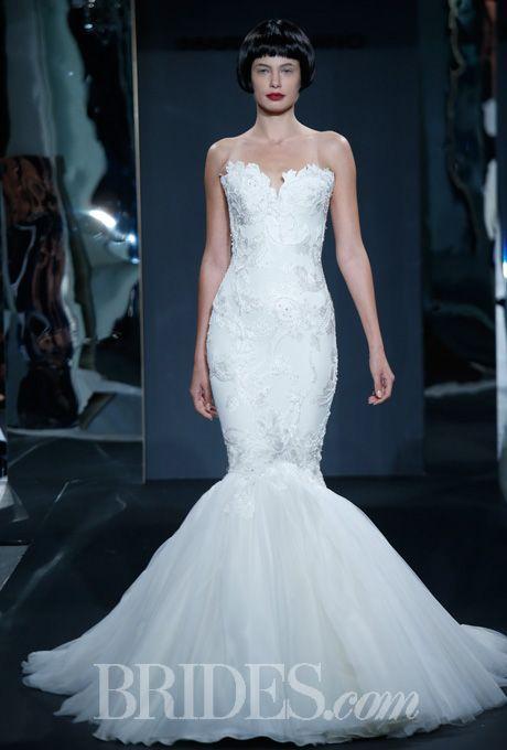 Trumpet Wedding Dresses Kleinfeld : Wedding dress styles floral dresses jersey trumpet