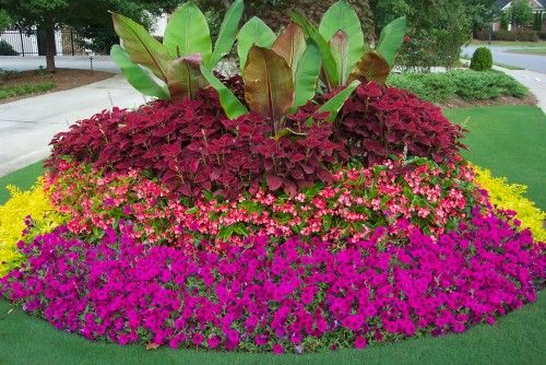 Centerpiece flower garden