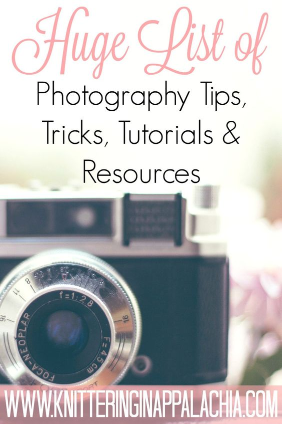 The HUGE List of Photography Tips, Tricks, Tutorials,  Resources & Recommendations (for beginners!) [Updated] #Affiliate