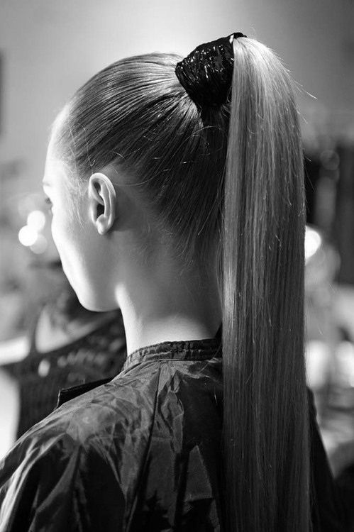 Image result for high ponytail tumblr
