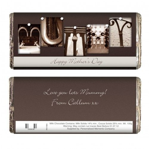 Affection Art Mummy Chocolate Bar | Chocolate | Exclusively Personal