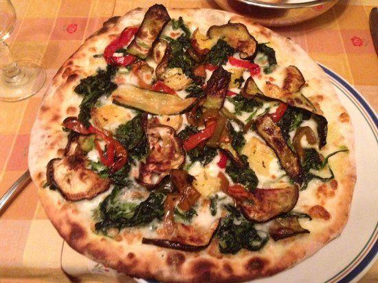 Ricetta Pizza Ortolana.Pizza Ortolana Cucina Vegetariana Pasti Italiani Ricette Idee Alimentari